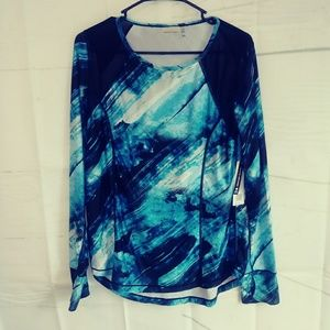 NEW Nanette Lepore Long Sleeved Actice Top